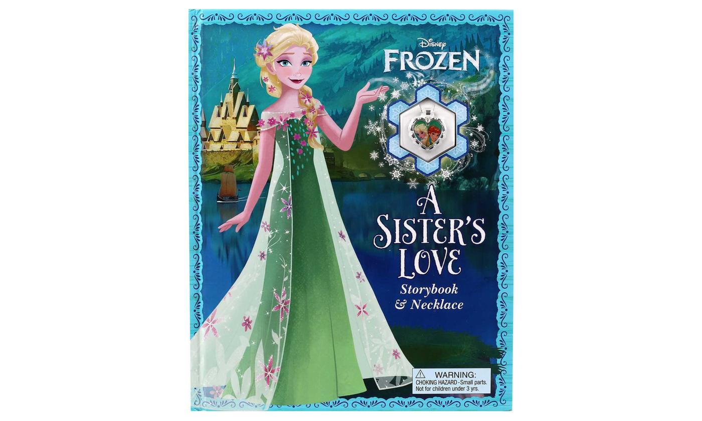 Frozen A Sister's Love: Storybook and Necklace