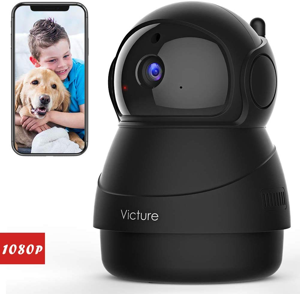 Victure 1080P FHD Pet Camera with WiFi IP Camera Indoor Wireless Security Camera- $30.59 & FREE Shipping