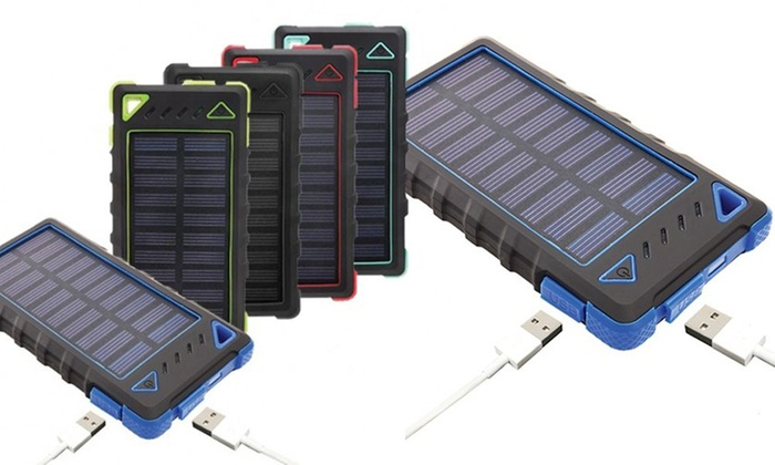 Maze Exclusive 8,000mAh High-Speed 2-Port Solar Power Bank